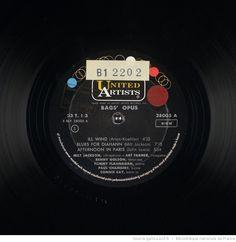 BAG'S OPUS / Milt JACKSON, vibraphone - Art FARMER, trompette - Benny GOLSON, saxo-ténor - Tommy FLANNAGAN, piano - Paul CHAMBERS, contrebasse et Connie KAY, batterie | 1962