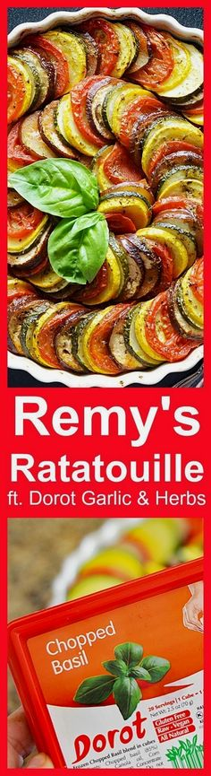 Remy's Ratatouille f Remy's Ratatouille featuring @MyDorot Garlic & Herbs #ElevateYourPlate #ad ooh.li/9ac3355
