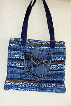 all purpose denim bag by mimisfunstuff on Etsy, $45.00