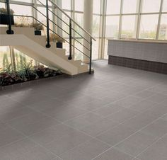 Master bath flooring. Interceramic Tessuto Gray; this has been installed in our master bath and guest bath; awesome textured linen look tile