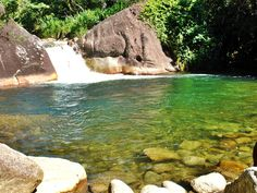 Poção da Maromba - Poções e Cachoeiras de Visconde de Mauá - Desviantes
