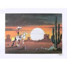 Morris - Lucky Luke Western