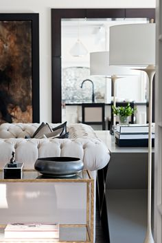 Living Room designed by Elizabeth Metcalfe Interiors & Design Inc.