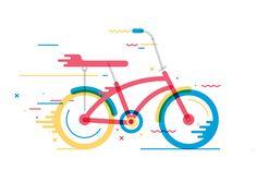 Bicycles: Illustration Series by Daniel González