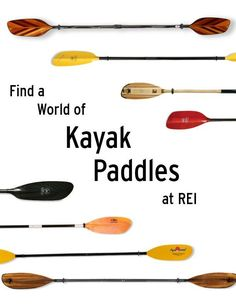 From flatwater to whitewater to sea kayaking, REI has a paddle for every purpose. #REIGifts