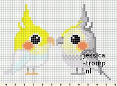 cockatiel cross stitch