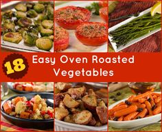 18 Recipes for Easy Oven Roasted Vegetables | mrfood.com