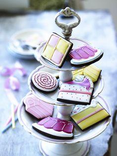Biscuiteers Cake Biscuits