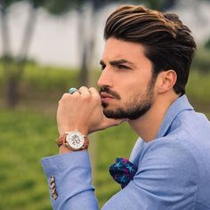 Mens hairstyles, Hair styles, Hair trends Hair and beard styles, Summer hairstyles, Men hair color - 7 Key Accessories Men Should be Wearing Today LLEGANCE - Faded Beard Styles, Hair And Beard Styles, Curly Hair Styles, Groom Hair Styles, Mens Summer Hairstyles, Hairstyles Men, Beard Fade, Cooler Style, Men Hair Color