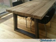 houten robuuste tafel - Ask.com Image Search