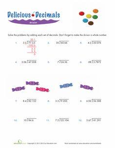 math worksheet : long ision decimals 3rd grade math free printable  math  : Free Dividing Decimals Worksheets