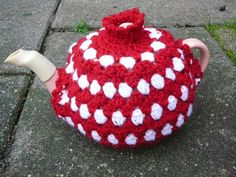 ❥Crochet Tea Cosies, Mug Hug Snugs and Cuppa Cosies.    christmas tea COSY