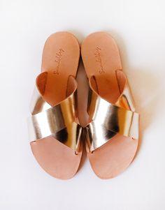 Carrie Sandals |Metallics|