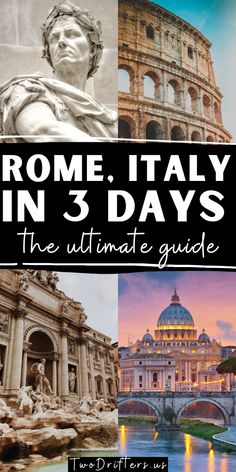 Rome wasn't built in a day, no...but you can see its highlights in three! Our 3 days in Rome itinerary will ensure you have the perfect experience in Italy.