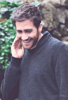 Jake Gyllenhaal ugh look at that smile