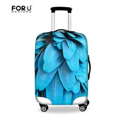 FORUDESIGNS New Arrival Luggage Suitcase Protective Cover For 18 to 28 inch Travel Case,Women Luggage Accessories Suitcase Cover