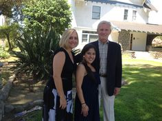 Gloria, Sara (2013 Scholarship Recipient) and Patrick