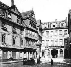 Einhornplätzchen - Frankfurt am Main  c. 1900
