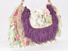 Garden Toile Gypsy Bag - pinned by pin4etsy.com