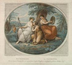 BARTOLOZZI, Francesco  Italian engraver (b. 1727, Firenze, d. 1815, Lisboa) Bacchante.  1786