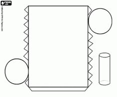 Cylinder With A Circle As Base Coloring Page