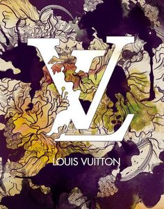 Louis Vuitton- Fashion Poster, recognizable symbol, use of negative space