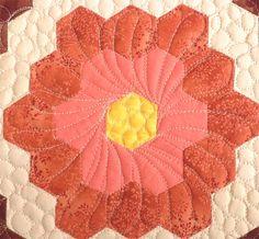 ~tutorial ~ Geta's Quilting Studio: How to Quilt Hexagons