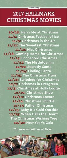 the premiere dates for hallmarks 2017 christmas movies are here - 12 Dates Of Christmas Trailer