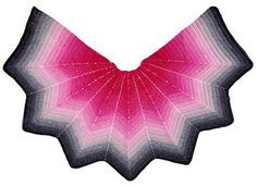 moon star shawl pattern by Jellina Verhoeff