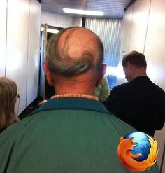 De donde salió el logotipo Firefox?