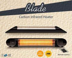 Infrared Heater, Blade, Company Logo, Llamas