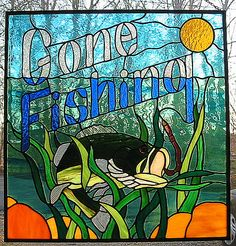 Gone Fishing by livingglassart home of oddballs and oddities, via Flickr