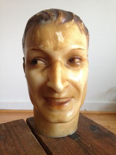 Vintage Rare  Wax Mannequin from Siegel Paris made in France