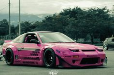 Nissan Silvia S13 Rocket Bunny Nissan 180sx, Tuner Cars, Jdm Cars, Stance Nation, Lamborghini, Volkswagen, Silvia S13, Porsche, Mustang