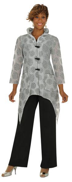 DEVINE CASUALS 3PC PANT SET #DC1383 VOL1023 [DC1383] - $119.00 : Women's Suits, Skirt Suits, Pants Suits, Dress Suits
