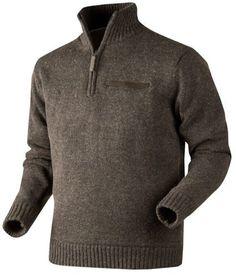 SWETER ODELL JERSEY FAUN BROWN MELANGE   Odzież \ Swetry męskie