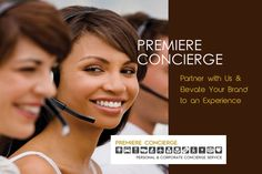 Premiere Concierge - Partner With Us & Elevate Your Brand to an Experience.