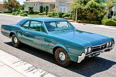 1966 Oldsmobile 442 L69 W30 2dr Post