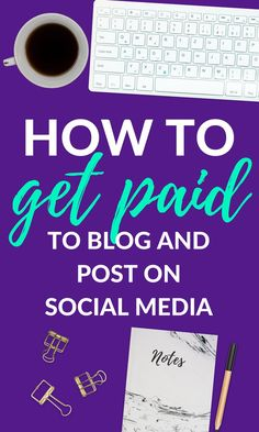 Get my list of companies that will pay you to blog and share on social media! #bloggingtips #blogging