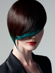 Textural 2012-2013 Hair Trends pops of color