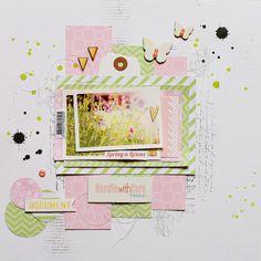 Spring-a-licious *DT ColorConspiracy* - Scrapbook.com
