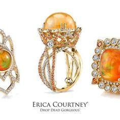 #opals just have #magic in them ✨ #October #octoberbirthstone  #dropdeadgorgeous  #ericacourtney #showmeyourrings #jewelrystateofmind  #lovegold #luxury #luxurybyjck #jewelry #jewelrydesign #jewels #diamond #diamonds #custom #love #stunning #beautiful #color #finejewelry #highendjewels #ringoftheday #dreamring #losangeles #gemstones #blingbling