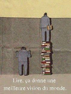 Et vous, pourquoi lisez-vous ?