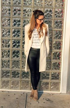 The Fashion Diaries: Edgy Chic