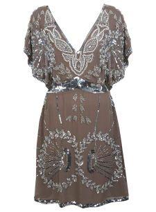 Mink Embellished Dress