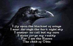 Edgar Allan Poe CORBUL Într-un sumbru miez de noapte cînd, sleit şi slab, în… Thor, Norse Pagan, Norse Mythology, Les Runes, Viking Quotes, Quoth The Raven, Viking Life, Vegvisir, Crows Ravens