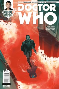 Titan Comics Doctor Who: The Ninth Doctor Ongoing 2016 Doctor Who 9, Doctor Who Comics, Home Doctor, Ninth Doctor, Comic Book Covers, Comic Books Art, Book Art, Old Letters, Christopher Eccleston