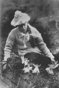 Early 1920s picture that inspired Sir Arthur Conan Doyle (author of Sherlock Holmes) to continue his fairy hunt. The Cottingly pictures/fairies were the subjects of the movie Fairy Tale: A True Story (1997)