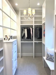 Southern Living Showcase Home   Custom Closet With Built In Cabinetry