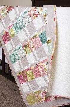 """""""Lickety-Split"""" quilt pattern by Vanessa Goertzen of Lella Boutique"""